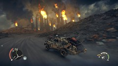 Mad Max_20181022232506 (Livid Lazan) Tags: mad max videogame playstation 4 ps4 pro warner brothers war boys dystopia australia desert wasteland sand dune rock valley hills violence motor car automobile death race brawl gaming wallpaper drive sky cloud action adventure divine outback gasoline guzzoline dystopian chum bucket black finger v8 v6 machine religion survivor sun storm dust bowl buggy suv offroad combat future