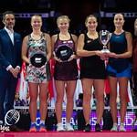 Barbora Krejcikova, Katerina Siniakova, Kristina Mladenovic, Timea Babos