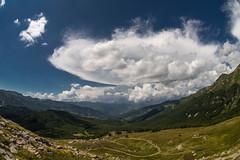 On the ridge path from Abetone to Libro Aperto, Tuscany, 2018 (maurizioagelli (formerly giuliomarziale)) Tags: appennino apennine tuscany fisheye