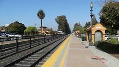 BurlingameStation22SEP18 06 (By Air, Land and Sea) Tags: train rail railway railroad station depot suburban commuter california caltrain burlingame sanfrancisco pcs peninsulacommuteservice