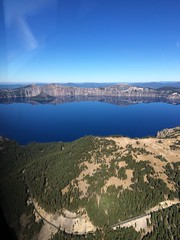 2018. Aerial view of Crater Lake National Park, Oregon. (USDA Forest Service) Tags: usda usfs forestservice stateandprivateforestry foresthealthprotection region6 r6 craterlakenationalpark craterlake aerialsurvey 2018 aerialphoto oblique oregon whitebarkpine aerialdetectionsurvey forestinsect forestdisease ads bensmith lowelevationphotography aerialphotography landscape forest road