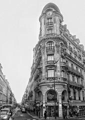 Pignon sur Rue I (marc.barrot) Tags: bw urban landscape street corner pignon placedeclichy paris 75008 france