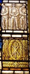 Weymouth - St Mary's Church (Glass Angel) Tags: weymouth stmaryschurch dorset uk stainedglasswindows stainedglass jamespowellsons ww1memorialwindow