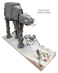 Echo Base Outer Fringe 4 (Rubblemaker) Tags: moc lego starwars star wars toys building blocks atat hoth