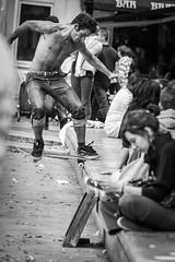 Fontaine des Innocents (Mathijs Buijs) Tags: skateboarding bs backside noseslide fountain fontaine des innocents les halles paris france europe canon eos 400d