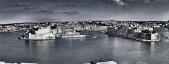 It-tlett Ibliet  Malta .... ; (c)rebfoto (rebfoto ...) Tags: rebfoto malta cityskyline cityscape viewfromvallettamalta