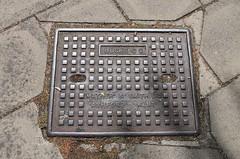 Bucks CC Cover (Mather & Smith Ltd., Ashford, Kent) (Ray's Photo Collection) Tags: cover aylesbury mathersmithltd buckscc access buckinghamshire bucks england uk countycouncil streetfurniture manhole inspection