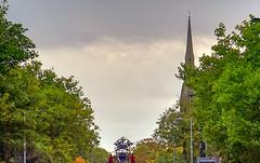 TEAM LITTLE BOY CHURCH AUTUM CITY LANDSCAPE TREES (CloudBuster) Tags: liverpool liverpools dream royal de luxe france nantes united kingdom culture october 2018 giant spectacular
