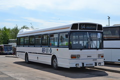 Leyland National REV01 WHH556S (Will Swain) Tags: lillyhall depot open day 26th may 2018 bus buses transport travel uk britain vehicle vehicles county country england english north west stagecoach group williamsdigitalcamerapics101 leyland national rev01 whh556s