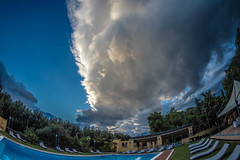 _DSC7930 (Dan Kistler) Tags: italy paestum greek temple clouds