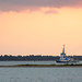 A Tug Makes Its Way Home in Charleston Harbor
