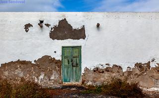 Puerta verde. 02. Tinajo, Lanzarote, diciembre, 2017.