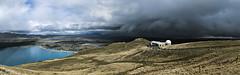 Storm rolling up the MacKenzie basin (upsidedown astronomer) Tags: newzealand landscape lake tekapo