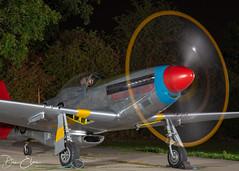 Full power (Dan Elms Photography) Tags: mustang warbird p51d p51dmustang usaf redtails peterteichmann hangar11 danelms danelmsphotography aviation aviationphotography vintageaviation wwii ww2