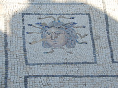 2,000 year old Roman mosaic tile floors (VJ Photos) Tags: hardison spain seville italica