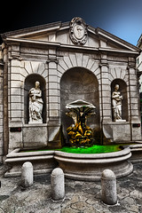 Fountain of the Tritons (Marco Trovò) Tags: marcotrovò hdr canon5d milano lombardia italia italy palace building street architecture fontanadeitritoni salvatoresaponaro fountainofthetritons viaandegari