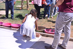 Event for Children at Healing Garden Chamchamal (Jiyan Foundation) Tags: jiyan foundation humanrights chamchamal kurdistan iraq irak idp healinggarde children games fun rheinbach stjoseph education handpaint handmalfarben ahmad emad photography healinggarden heilgarten gymnasiumrheinbach
