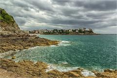 Dinard  -  Bretagne (bruno.suignard) Tags: dinard bretagne orage ciel mer nuage contrast paysage baie