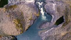 Molalla River in autumn (BLMOregon) Tags: blm bureauoflandmanagement molalla river drone recreation fall autumn oregon cascades pacific northwest aerial uas
