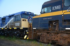 1202 & C501 (rob3802) Tags: 1200class 1202 cclass c501 cootamundra nsw vr victorianrailways diesel diesellocomotive dieselelectriclocomotive locomotive loco