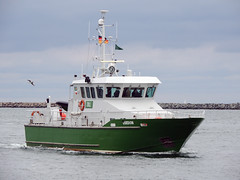 Usedom (MMSI 211409370) (Parchimer) Tags: zollboot customsboat lawenforcement pollutioncontrolvessel warnemünde seekanal