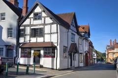 The High Street, Church Stretton, Shropshire (Baz Richardson (now away until 26 Oct)) Tags: shropshire churchstretton thesquarechurchstretton highstreetchurchstretton markettowns smalltowns streetscenes