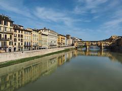 老橋   Firenze, Italy (sonic010739) Tags: olympus omd em5markii olympusmzdigital1240mm firenze italy