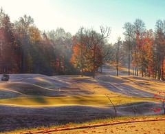 When the frost is on the pumpkin (Sam0hsong) Tags: jameswhitcombriley golf autumnleaves northcarolina