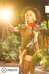 Heroes Never Die (MecCanon [Insta: JLPhotoOfficial]) Tags: cosplay mercy overwatch canon6d strobist albanycomiccon cosplayer witch