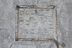 John McGuigan & Co., San Francisco, CA (Robby Virus) Tags: sanfrancisco california sf ca pavement john mcguigan co company metal street sidewalk cement concrete vent cover