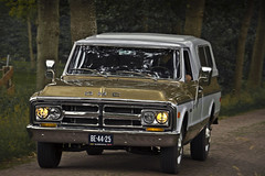 GMC C-10 Pick-Up Truck 1970 (6087) (Le Photiste) Tags: clay gmcdivisionofgeneralmotorsllcdetroitmichiganusa gmcc10pickuptruck cg 1970 gmcc10actionlinepickuptruck oldstyleweekendfoxwolde oddvehicle oddtransport rarevehicle foxwoldethenetherlands thenetherlands twotonecar simplygold be4425 sidecode1 afeastformyeyes aphotographersview autofocus artisticimpressions alltypesoftransport anticando blinkagain beautifulcapture bestpeople'schoice bloodsweatandgear gearheads americanpickuptruck creativeimpuls cazadoresdeimágenes carscarscars canonflickraward digifotopro damncoolphotographers digitalcreations django'smaster friendsforever finegold fandevoitures fairplay greatphotographers groupecharlie peacetookovermyheart hairygitselite ineffable infinitexposure iqimagequality interesting inmyeyes livingwithmultiplesclerosisms lovelyflickr myfriendspictures mastersofcreativephotography niceasitgets photographers prophoto photographicworld planetearthbackintheday planetearthtransport photomix soe simplysuperb slowride showcaseimages simplythebest thebestshot thepitstopshop themachines transportofallkinds theredgroup thelooklevel1red wheelsanythingthatrolls yourbestoftoday simplybecause oldtimer