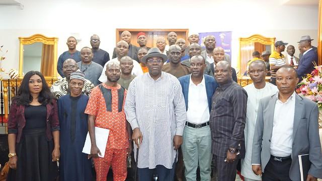 HSDickson - Condolence visit by faculty of the Bureau Chiefs. October 2018