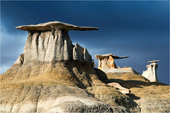 Wings (Sandra Lipproß) Tags: bistibadlands newmexico usa wings bisti badlands desert sky hoodoos landscape southwest