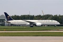 Boeing 787-9  Saudia-Saudi Arabian Airlines HZ-ARH (NTG842) Tags: boeing 7879 saudiasaudi arabian airlines hzarh