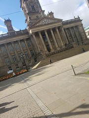 A photo of the Bolton Town Hall142059 (DPP Law) Tags: bolton uk city street history leaves scenic old building people autumn law legal court prison laywer barrister local courts council meeting historical architecture north west manchester