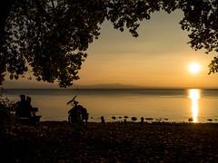 Autumn sunset (CHI@B) Tags: bodensee langenargen lakeconstance sunset autumn sunsetmood sonnenuntergang
