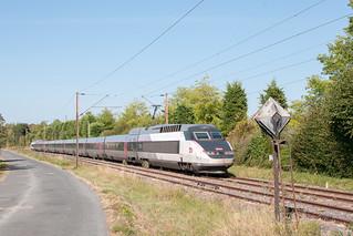 TGV sur le raccordement de Sarraltroff !