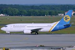 Ukarine International B737-3Y0 UR-GAE FRA 10/06/1995 (jordi757) Tags: airplanes avions fra eddf frankfurt main boeing 737 boeing737 b737 b737300 ukraineinternational urgae