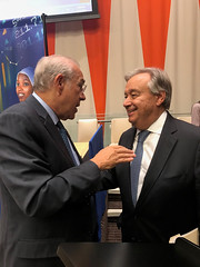 OECD Secretary-General Angel Gurría attends the 73rd United Nations General Assembly (Organisation for Economic Co-operation and Develop) Tags: angel gurria antonio guterres secretary general united nations un oecd new york assembly