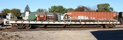 BN 961256 (MN transfer) Tags: burlingtonnorthern bn railroad freight train car flat flatcar bn961256 maintenanceofway mow october23rd2018