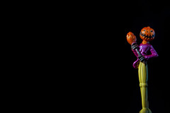 Nightmare Before Chirsmas: Jack (KellarW) Tags: allhallowseve toys halloween nightmarebeforechristmas stopmotion trickortreat jackolantern classic happyhalloween macromondays timburton jackskellington jack toy jackskelleton diecast metal