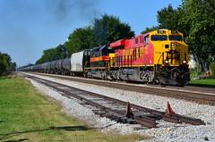 Unexpected IAIS (H-bob-omb) Tags: iowa interstate railroad iais ge es44ac locomotive 516 train track mokena illinois