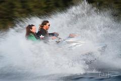 Jetski splash (PaulHoo) Tags: nikon d750 2018 water speed splash jetski flyboard action sport adventure vinkeveen people