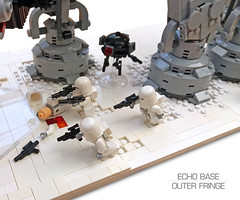 Echo Base Outer Fringe 7 (Rubblemaker) Tags: moc lego starwars star wars toys building blocks atat hoth