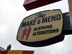 The Make & Mend (the justified sinner) Tags: justifiedsinner themakemend westmidlands panasonic 17 20mm gx7 wolverhampton old sign signs