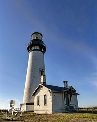 Yaquina Head Lighthouse (rachaellegrimsrud) Tags: newportor yaquinabay yaquinaheadlighthouse worldwidephotowalk scottkelbyworldwidephotowalk 2018worldwidephotowalk pacificocean waterscape canon1635mmf28lii ushighway101 us101 pacificcoasthighway