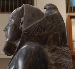 Khafre Enthroned, Egyptian Museum & Royal Mummies Hall, Cairo, Egypt. (ER's Eyes) Tags: egyptianmuseum cairo egypt egito museu museum museuegípcio salaamarna midantahrir statueofkhafre khafreenthroned