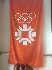 Flag of Olympic Games Sarajevo 1984 (Michal Kuban) Tags: bosnia hercegovina 2018 flag olympic games sarajevo 1984