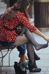 121004191933b1e0dd971e00d0 (pantyhose crotch) Tags: candid pantyhose nylon tights stockings
