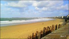 Saint Malo. (moimariep) Tags: mer bretagne plage
